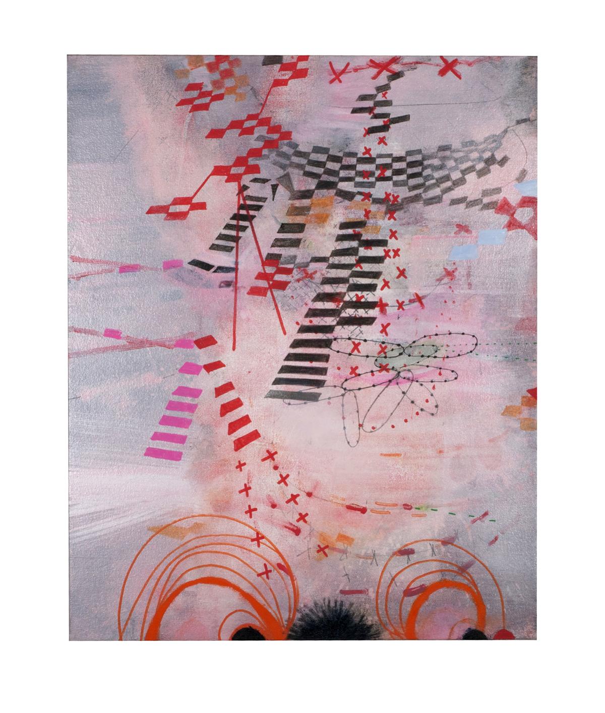 Virginia Verran, Pink/Orange (Alayrac signal) 2016.   virginiaverran.com