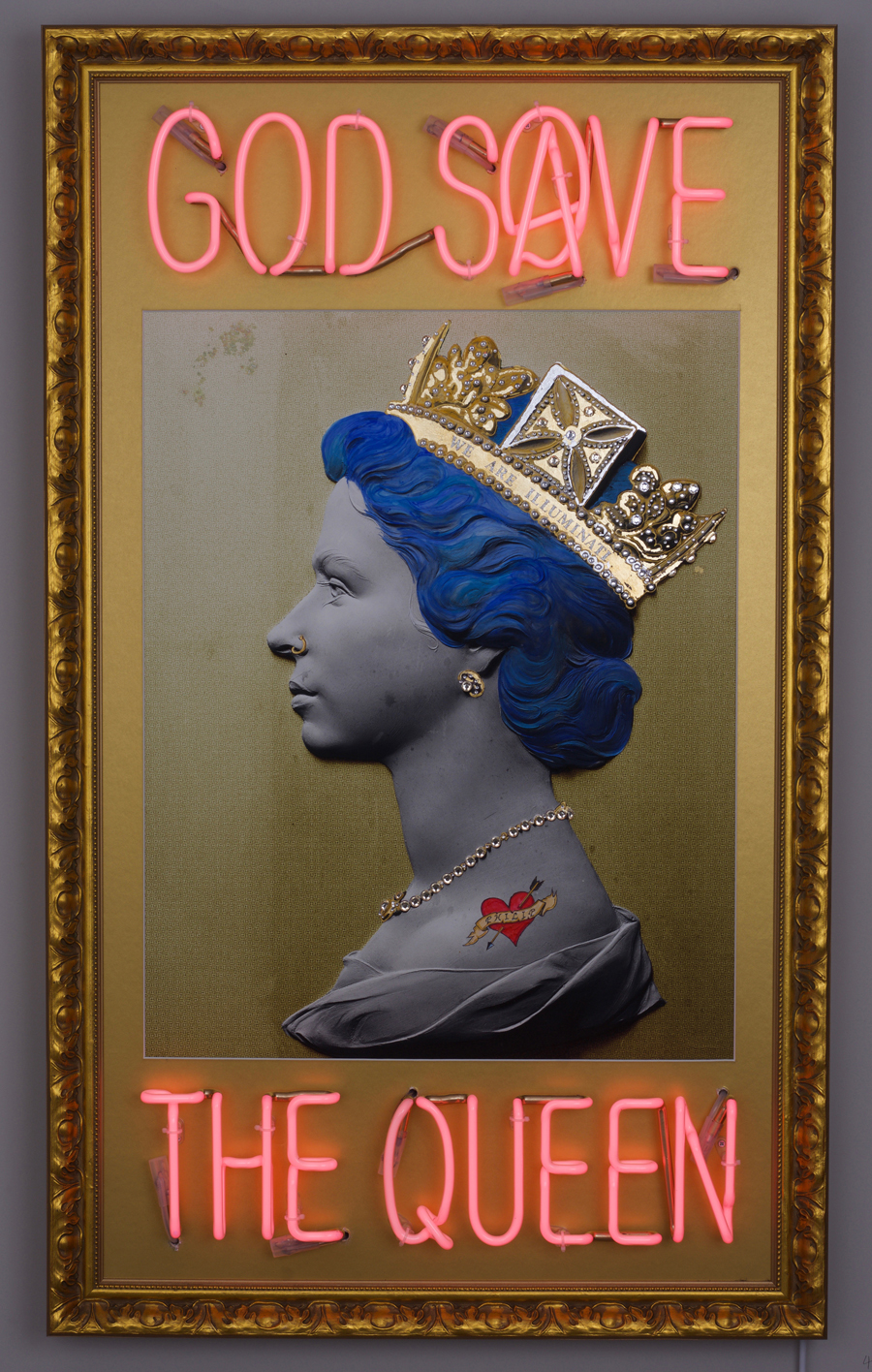 God Save The Queen. Illuminati. Herrick Gallery 2016.   herrickgallery.com