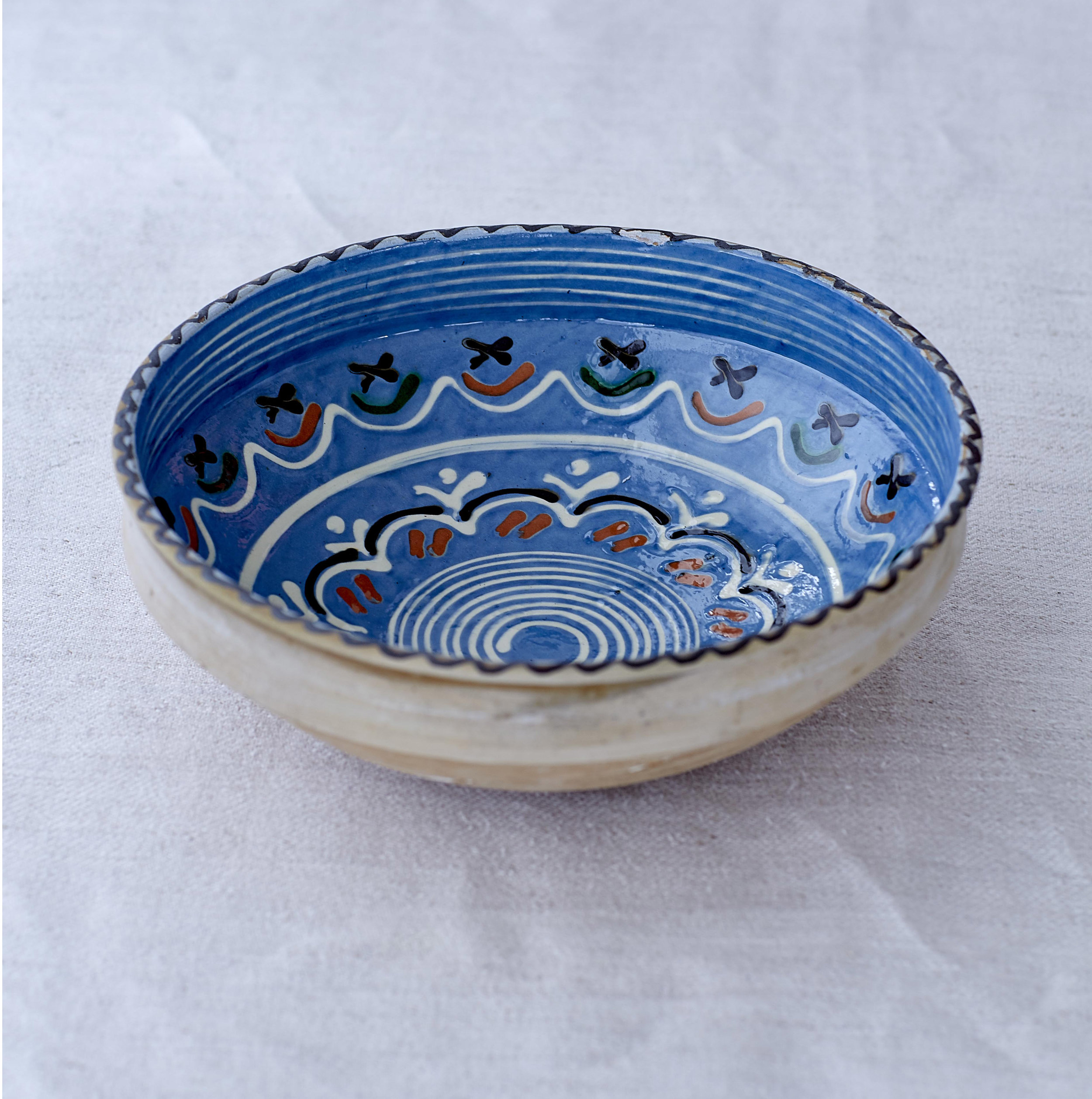 Blue Daisy Bowl