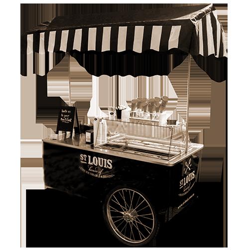 St Louis Ice Cream Cart