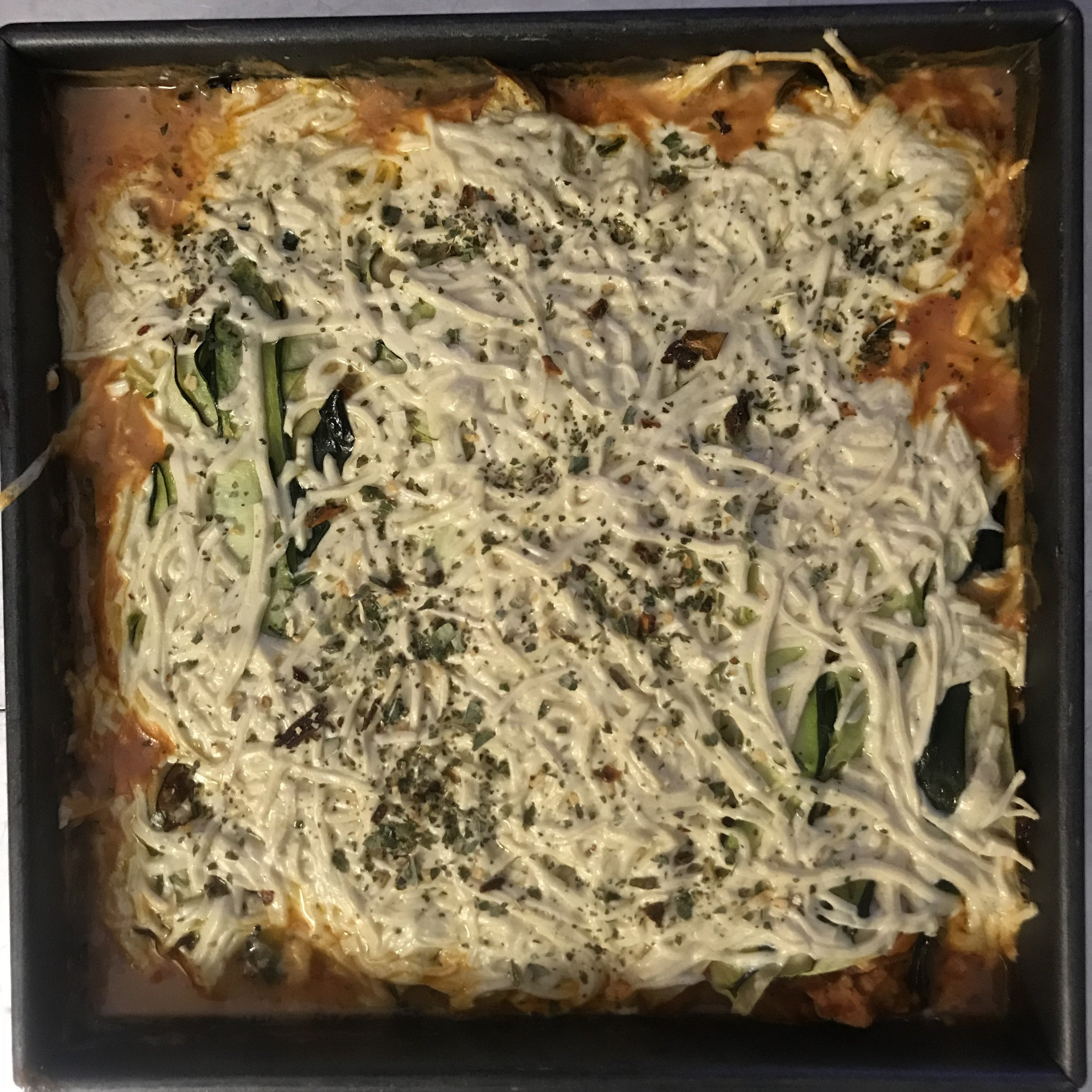 turkey zucchini lasagna
