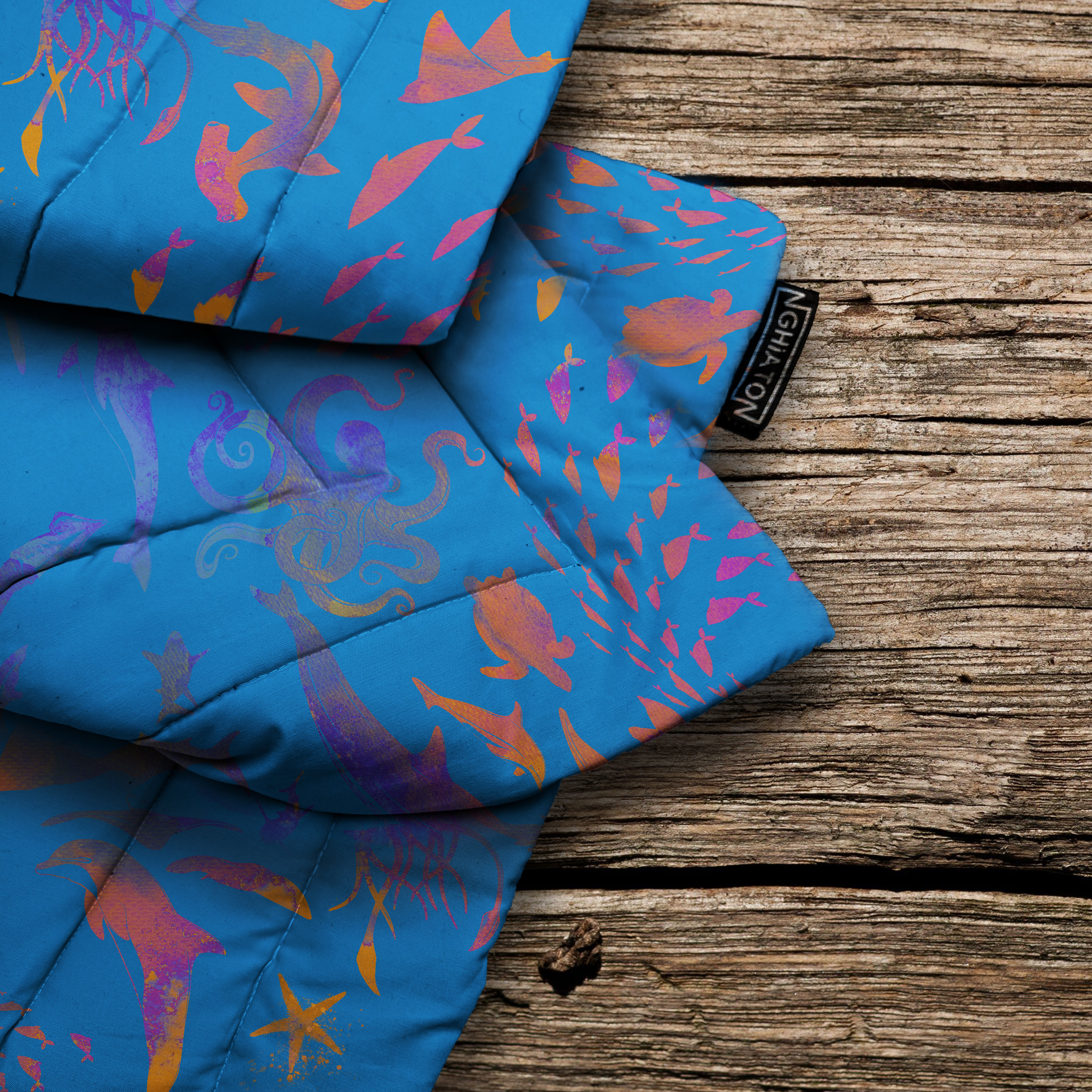 The Waters Quilted Blanket from £58