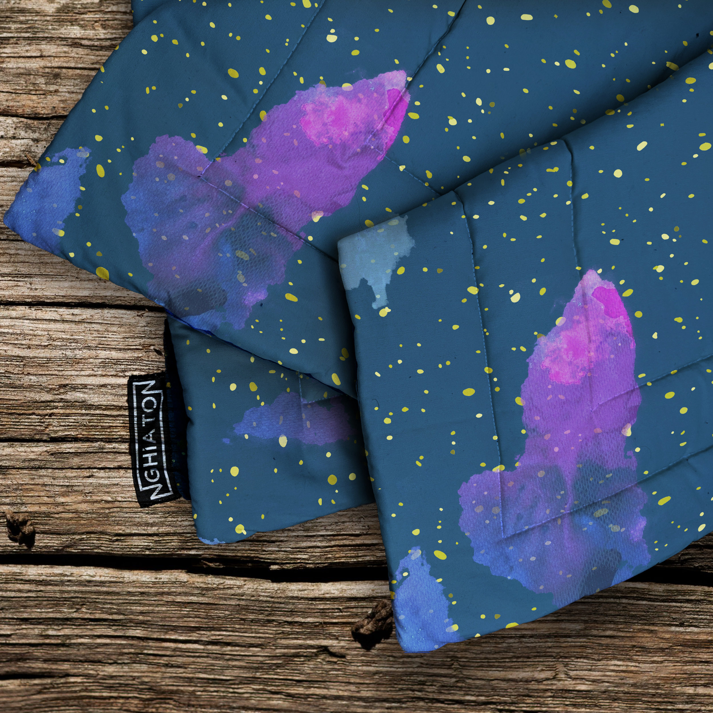 The Stars Quilted Blanket from £58