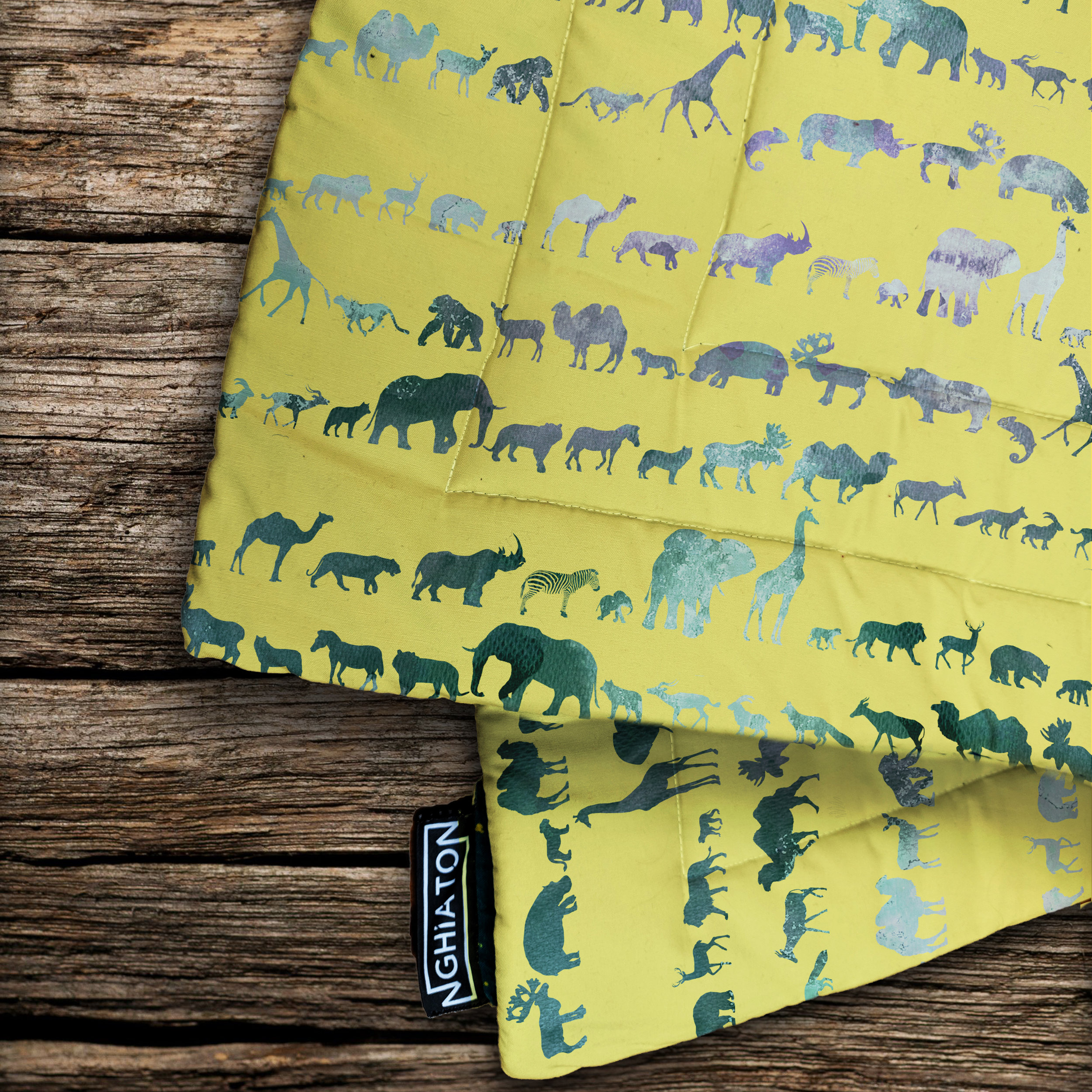 The Wilds Quilted Blanket from £58