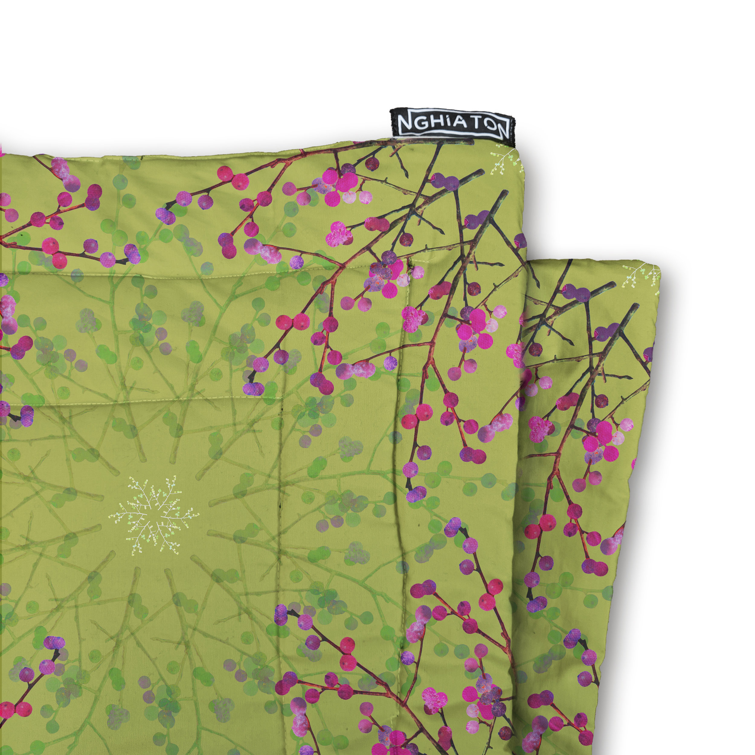 Berry Branch Quilted Blanket from £58