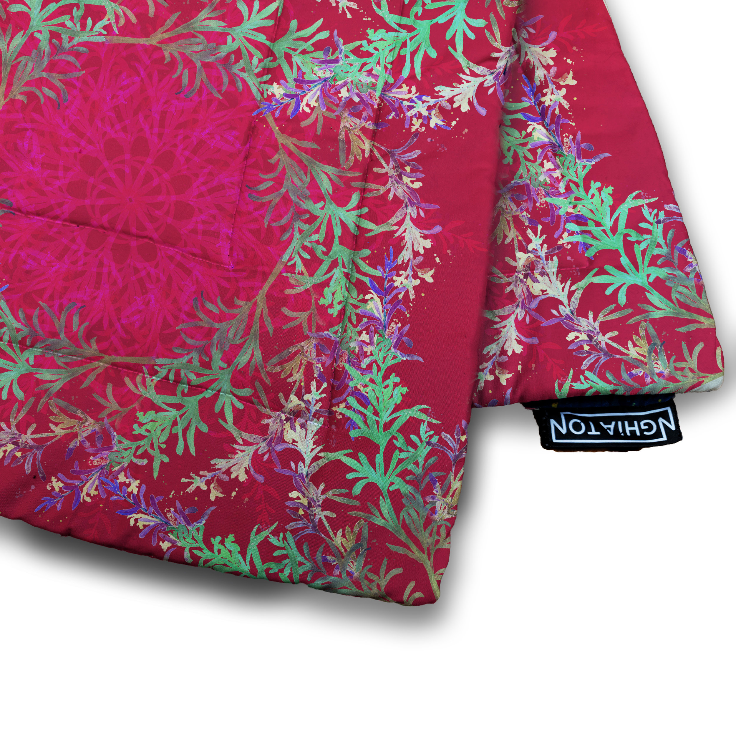 Jester Rosemary Quilted Blanket from £58