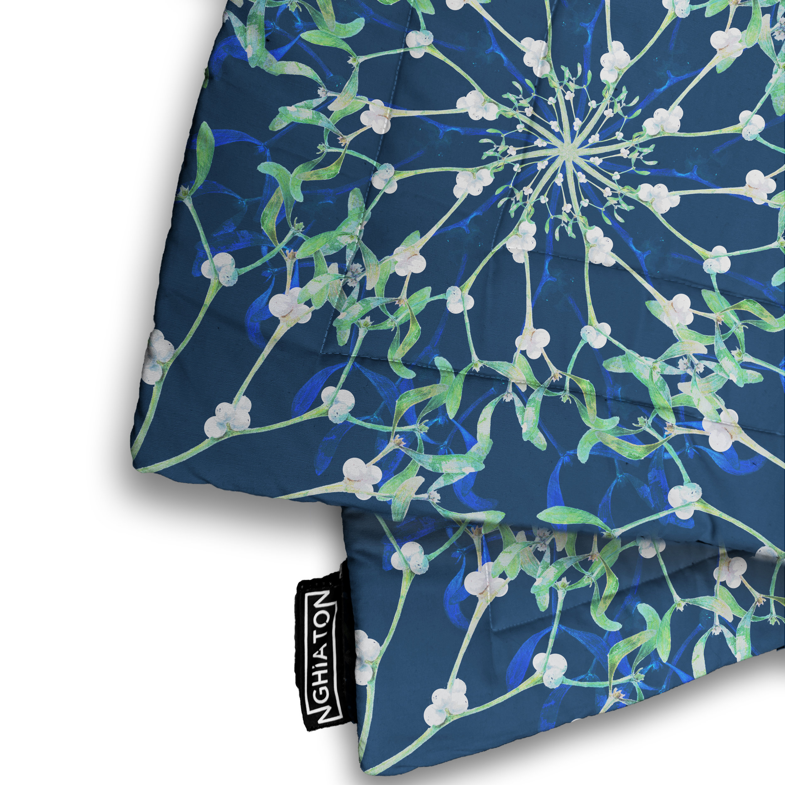 Merry Mistletoe Quilted Blanket from £58