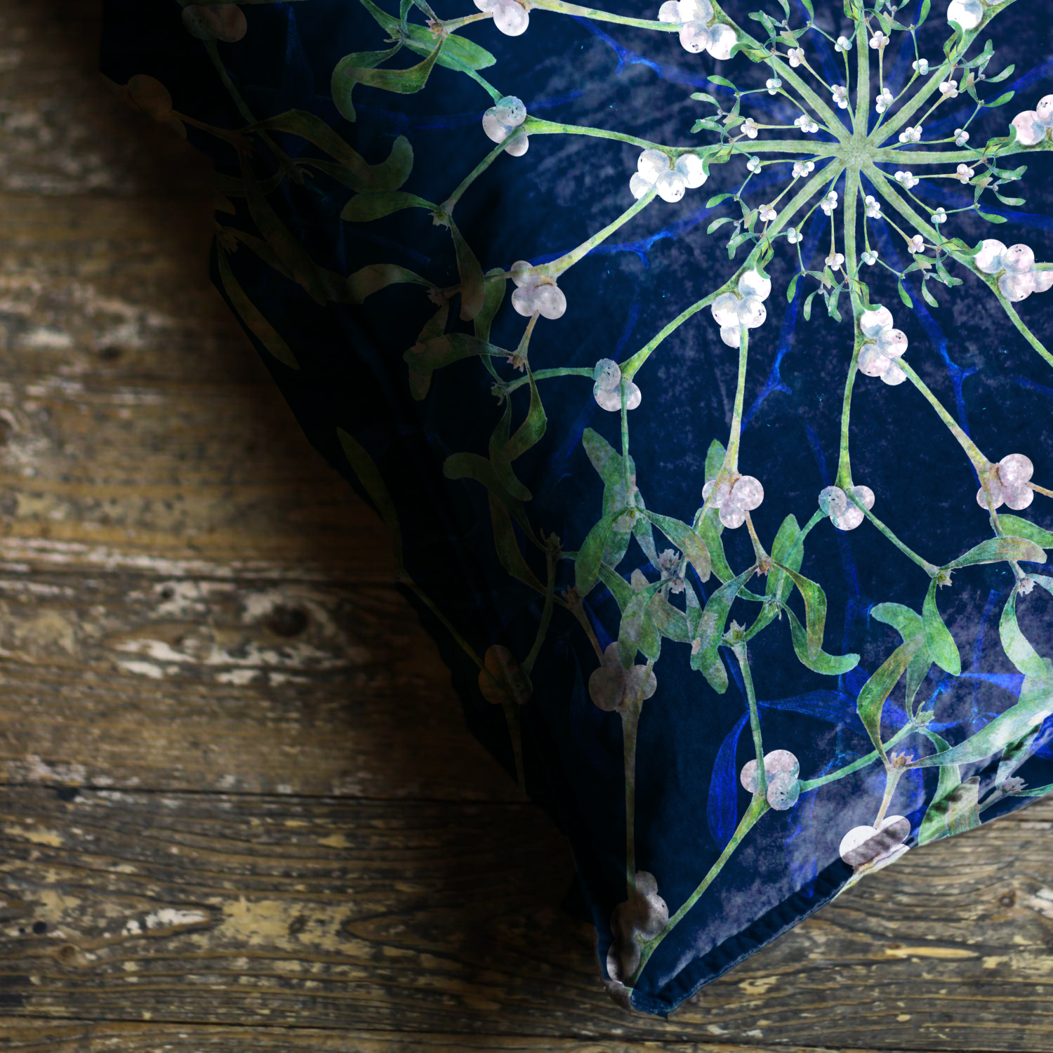 Mistletoe Cushion from £24