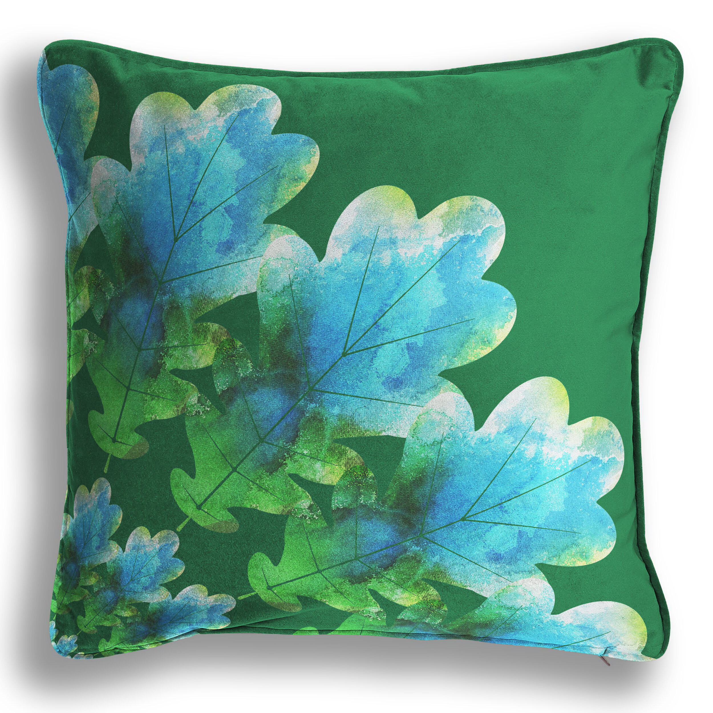 Emerald Oak Cushion