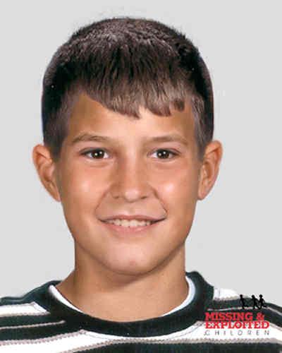 An age-progression photo of Michael Hughes