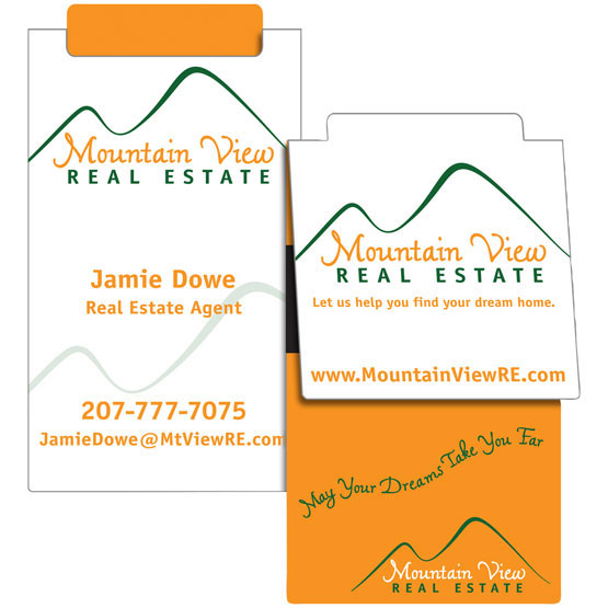 Business card Book Mark