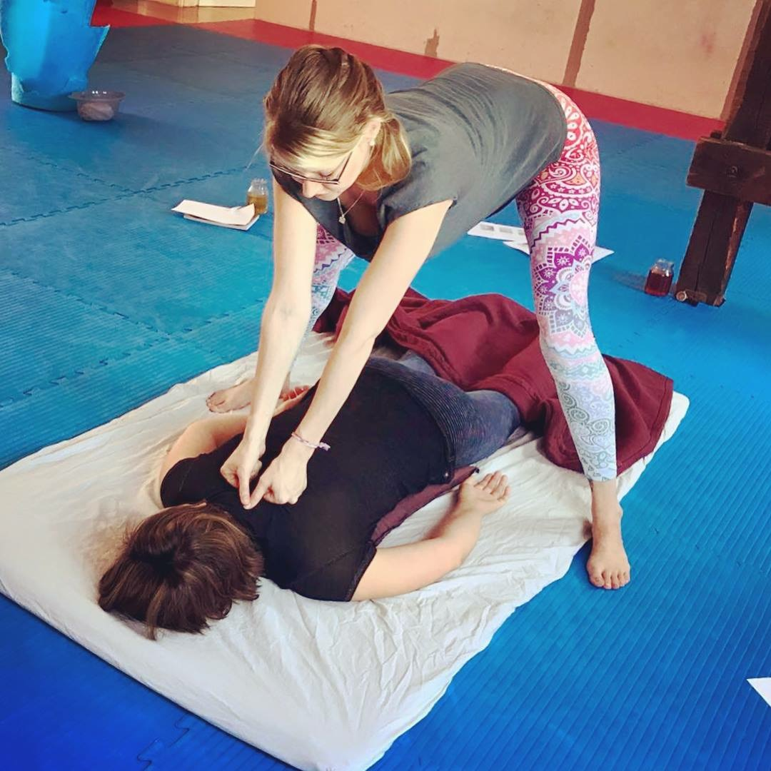 """""""Thai-Massage is the Art of giving from two Hands & the Heart."""" -"""