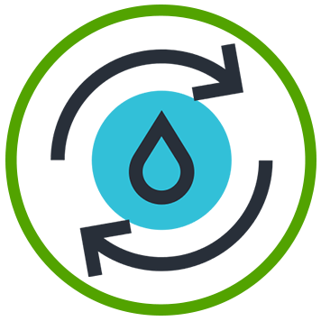 Growater Controls automated water recycling and purification system for indoor and greenhouse cannabis grows.