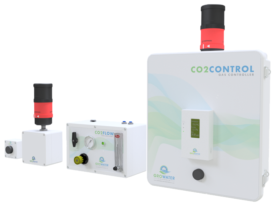 Growater Controls has an over 20 year history of providing CO2 and toxic gas detection safety systems for a variety of industires. Rely on our professional experience to make sure your indoor or greenhouse cannabis grow has safe levels of CO2.