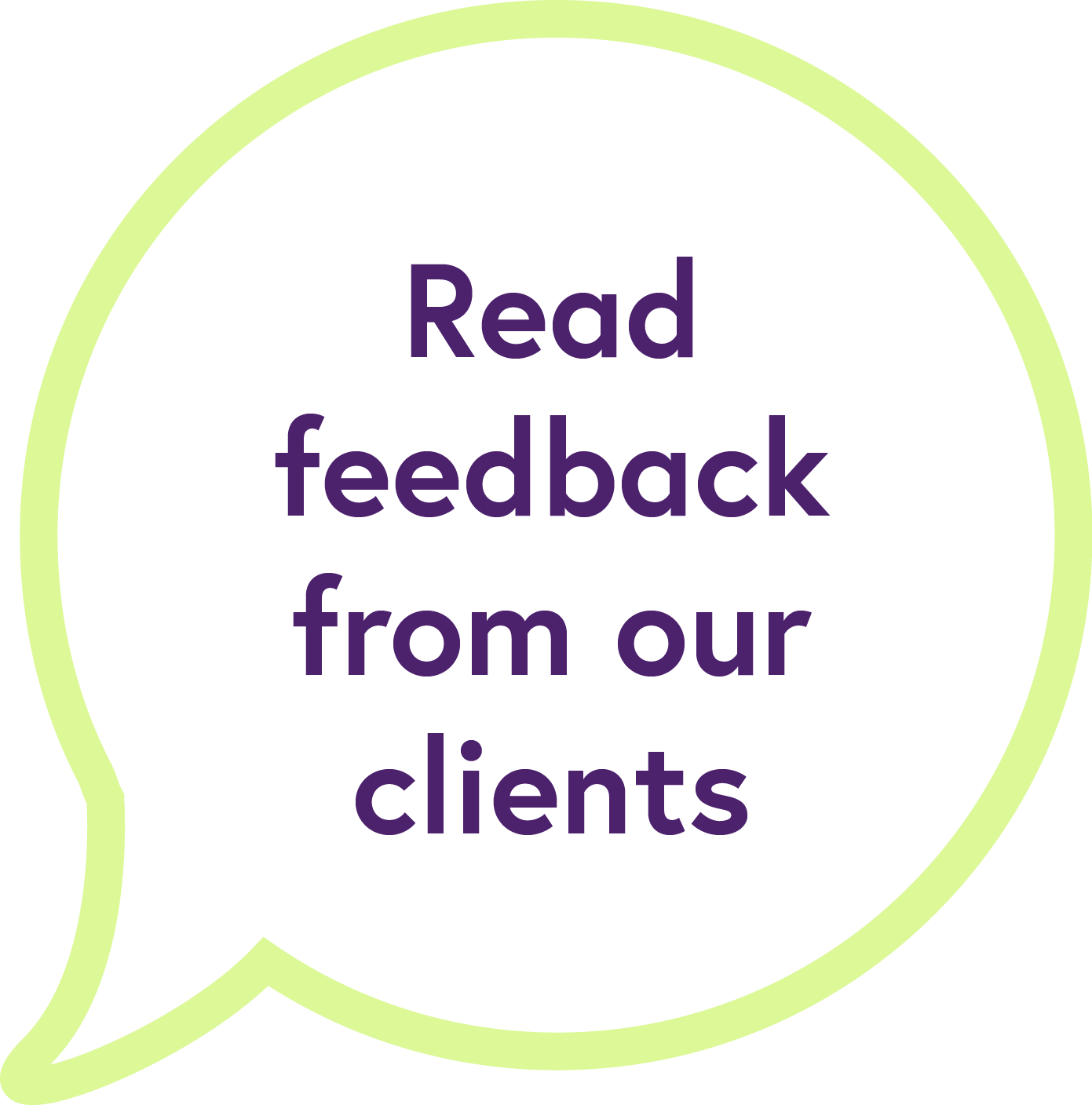 Feedback from our therapy clients