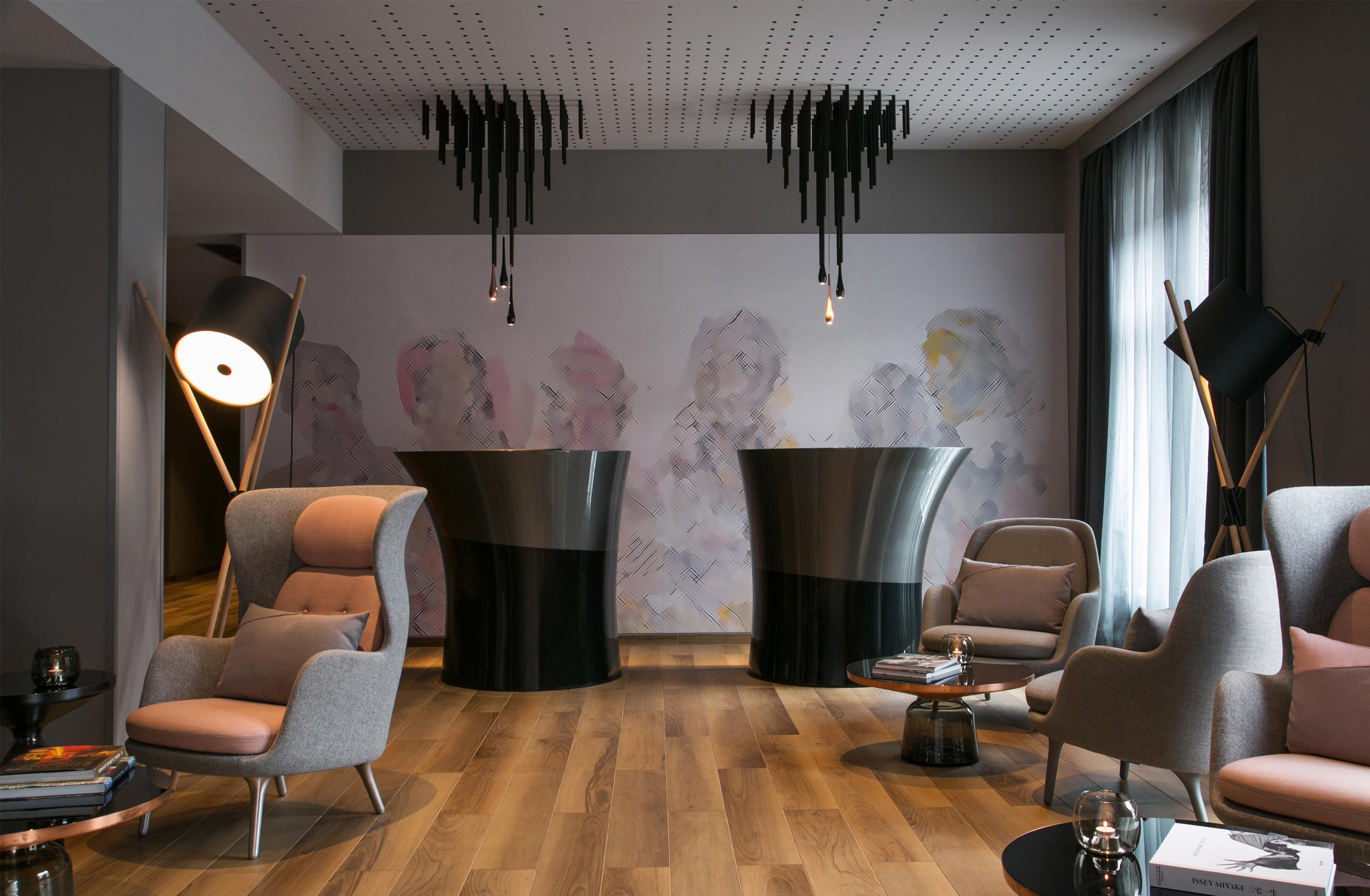 ART'OTEL MITTE BERLIN  Art by Georg Baselitz provided the lead inspiration   VIEW PROJECT