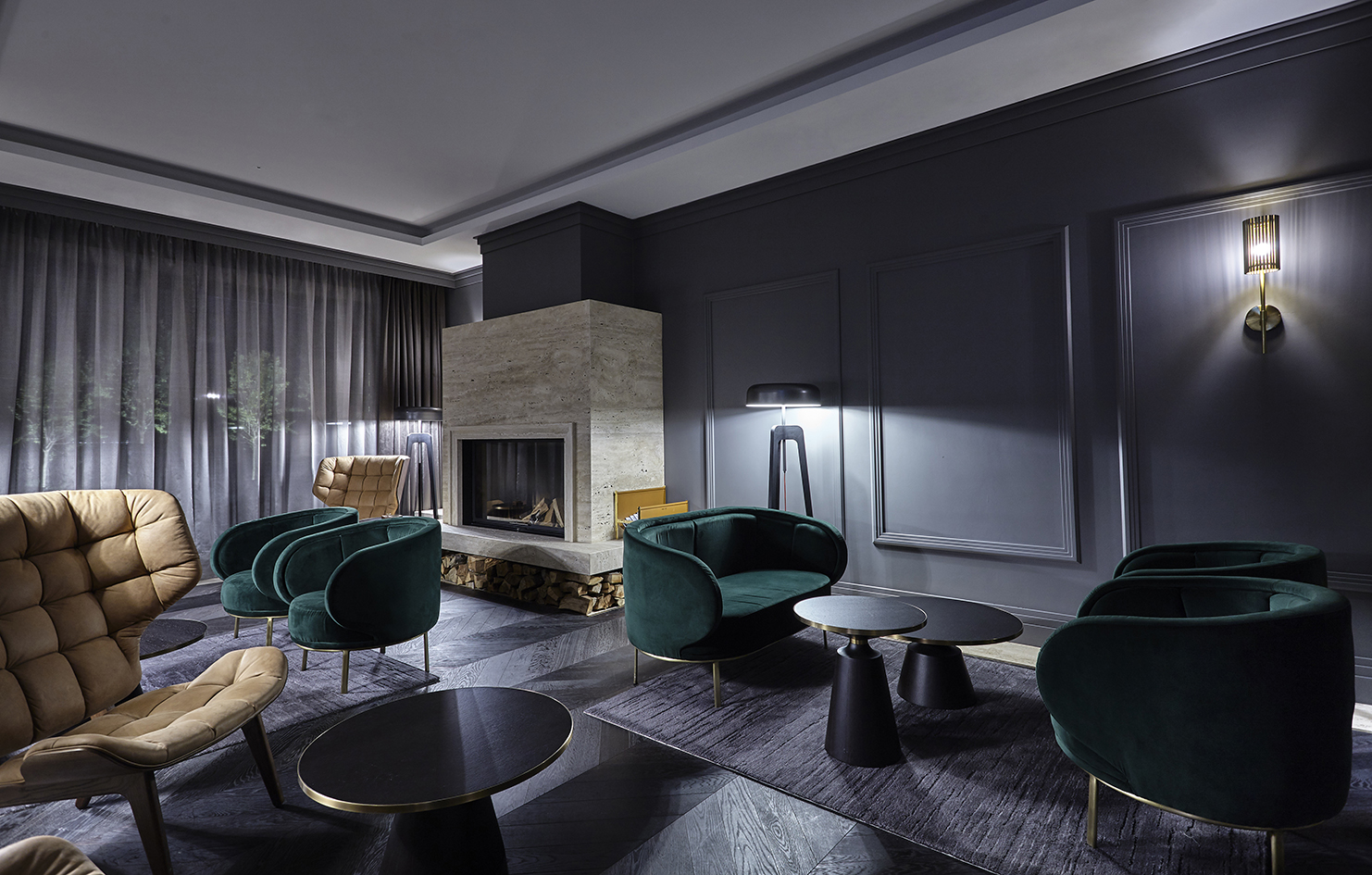 IKADOR LUXURY BOUTIQUE HOTEL & SPA  Luxurious finishes, carefully chosen materials  and bespoke furniture give fluidity to the contemporary yet timeless signature of the design   VIEW PROJECT