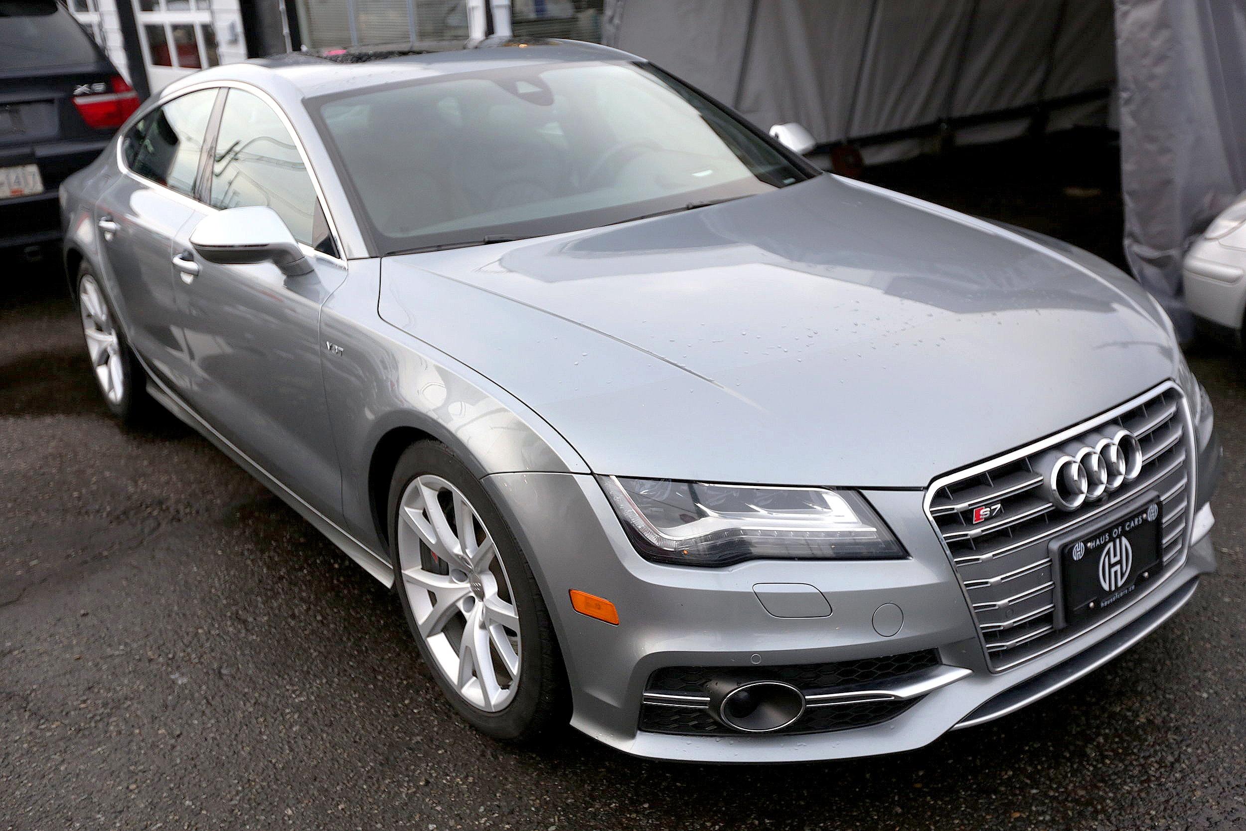 2013 Audi s7, full load -