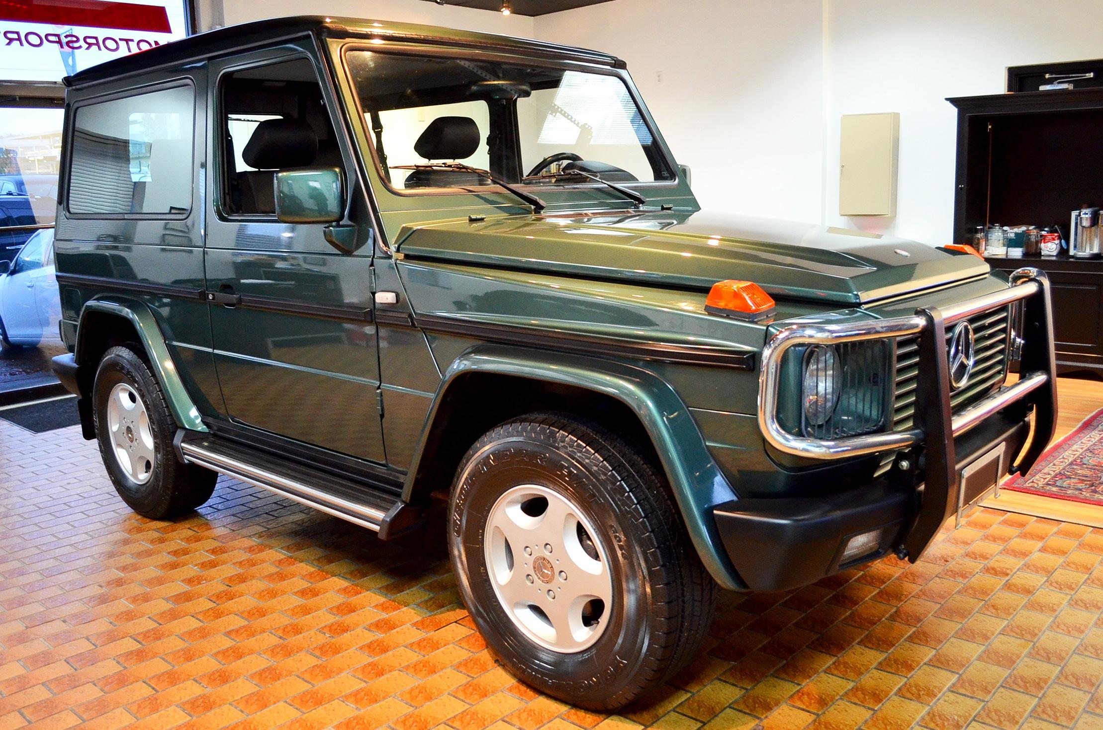 1997 Mb g320 2-door -
