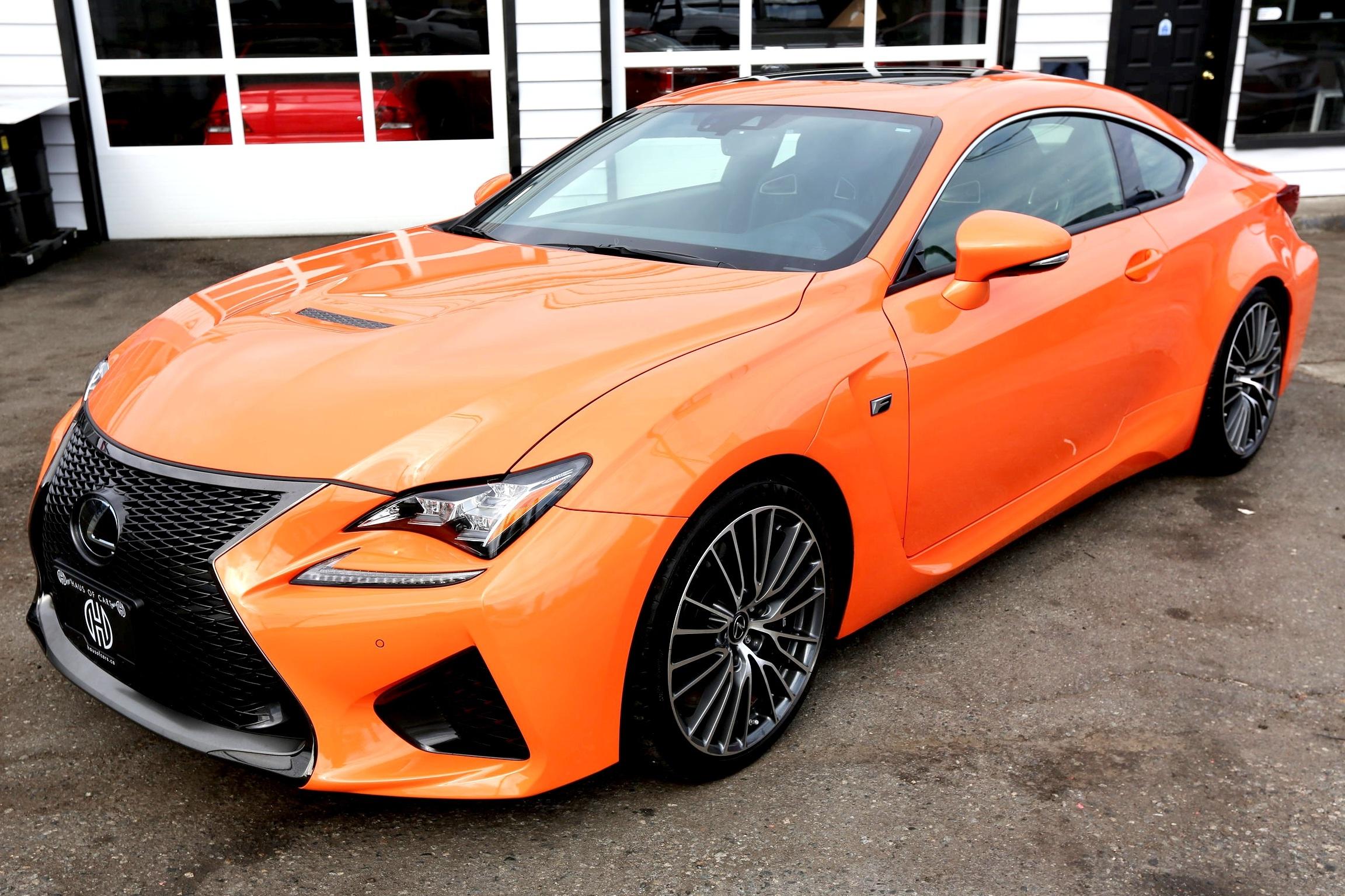 2015 lexus rc-f coupe -