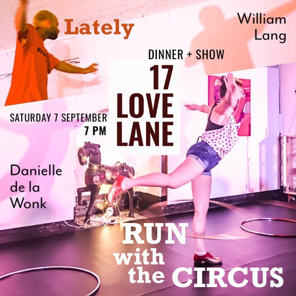 Tickets on sale for a unique evening of food + performance with @delawonk @17lovelane 7 September link in bio #hulahoops #circus #chile