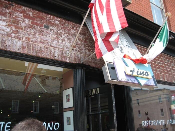 Fino's Italian Restaurant (now closed) in Washington, DC.