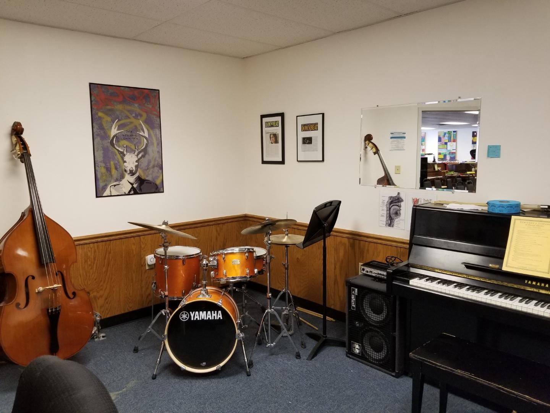 Medium Enclosed Band Practice Studio