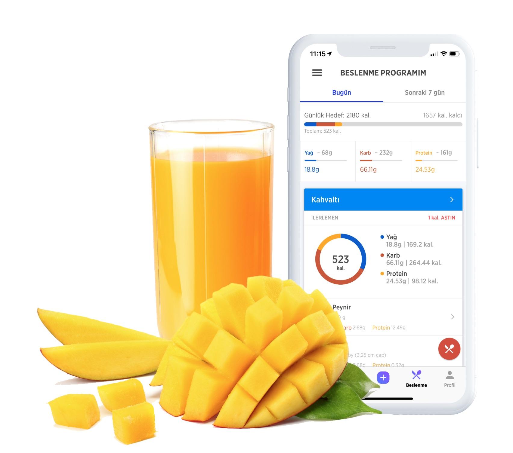 Temiz Beslen - Fitwell sana her hafta sevdiğin yemeklerden yapılmış bir menü hazırlar. Yediklerini kaydederek kalorilerini takip edebilir, sağlıklı beslenebilirsin. Fitwell sana yardımcı olacak!