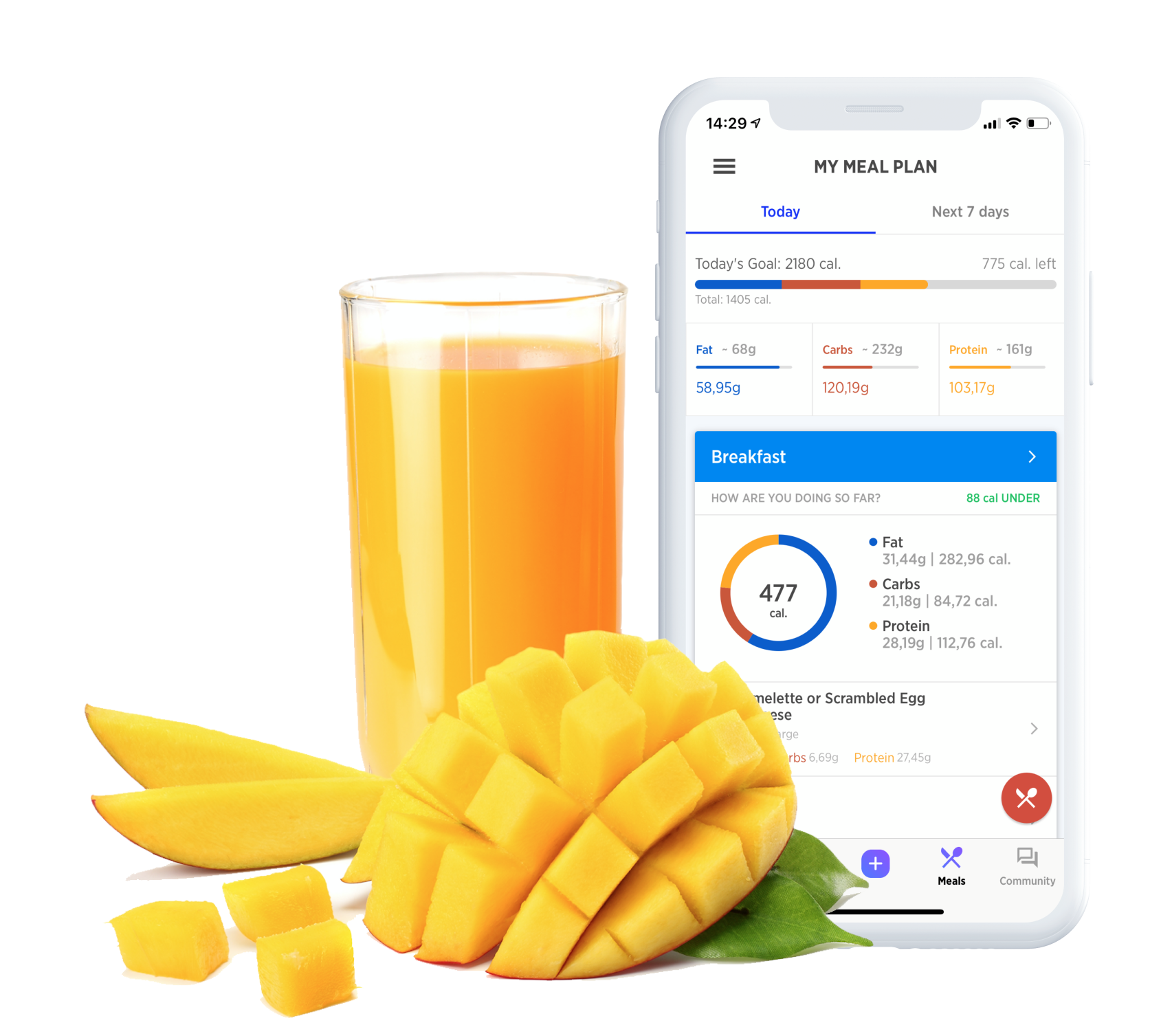 Eat Clean - Fitwell plans your weekly meals using the foods you love. Log your meals and track your calories. Fitwell will help you eat well so that you can see change!