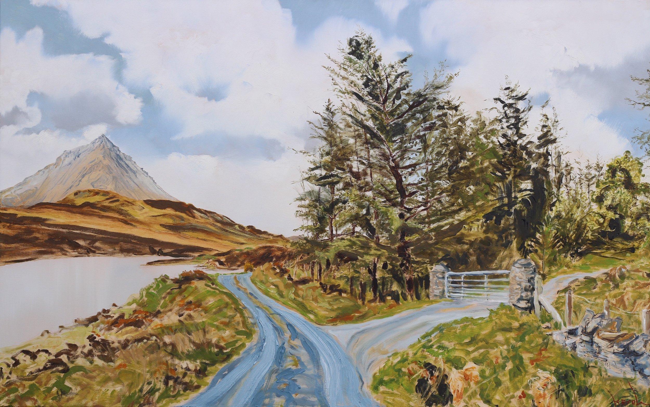 Loch an Ghainimh i Caiseal na gCorr - 75x120cm