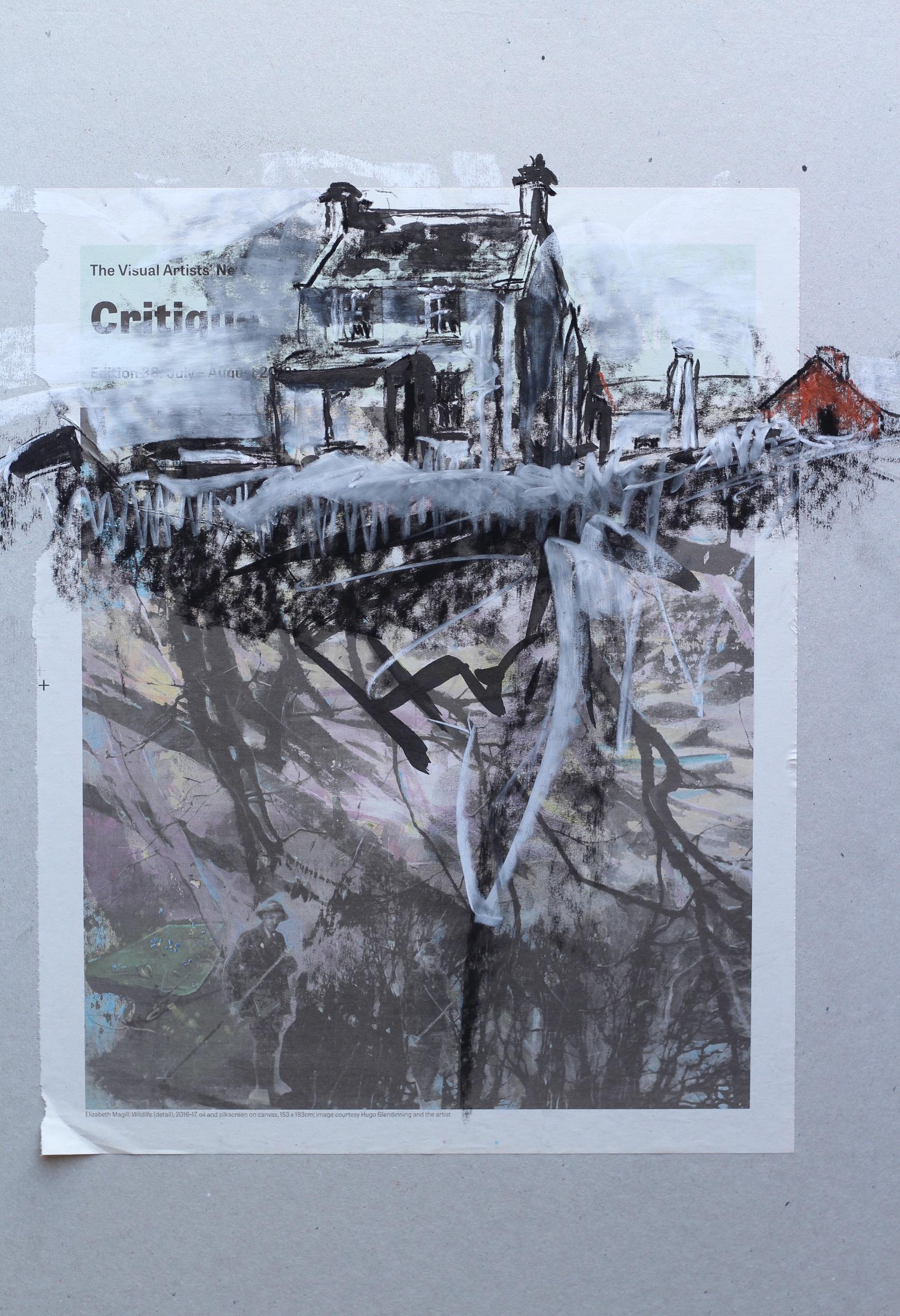 Teach Charlie Jimí ar Aghaidh na Mór Thíre - 61x48cm