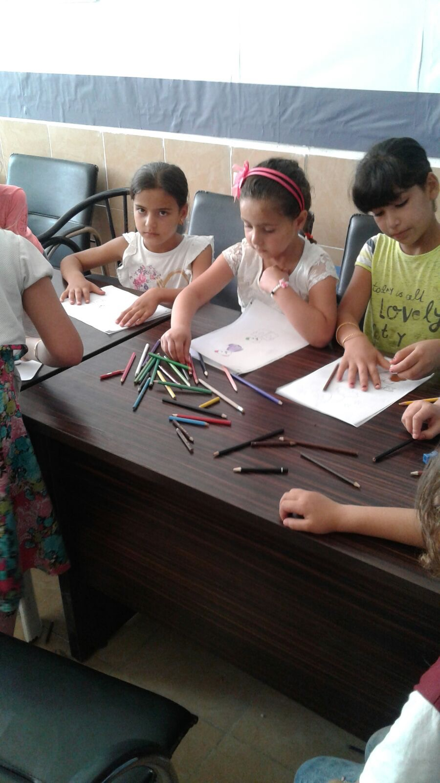 HOPING made a grant to cover the costs of registering Palestinian refugee children at schools in Turkey. The children were displaced from the Palestinian refugee camps in Northern Syria by the ongoing conflict and forced to flee with their families across the border into Turkey.