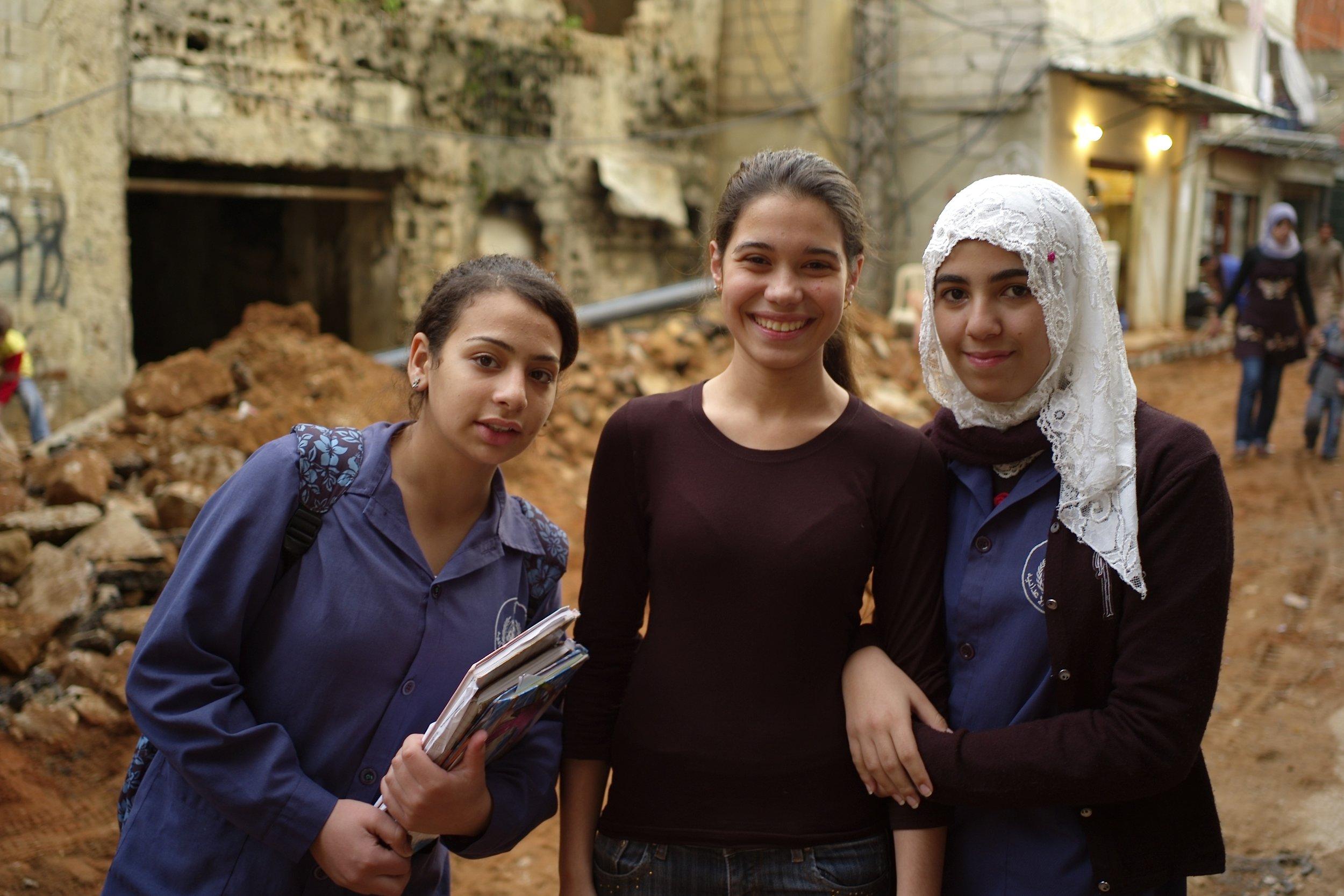 3 girls in Shatila.jpg