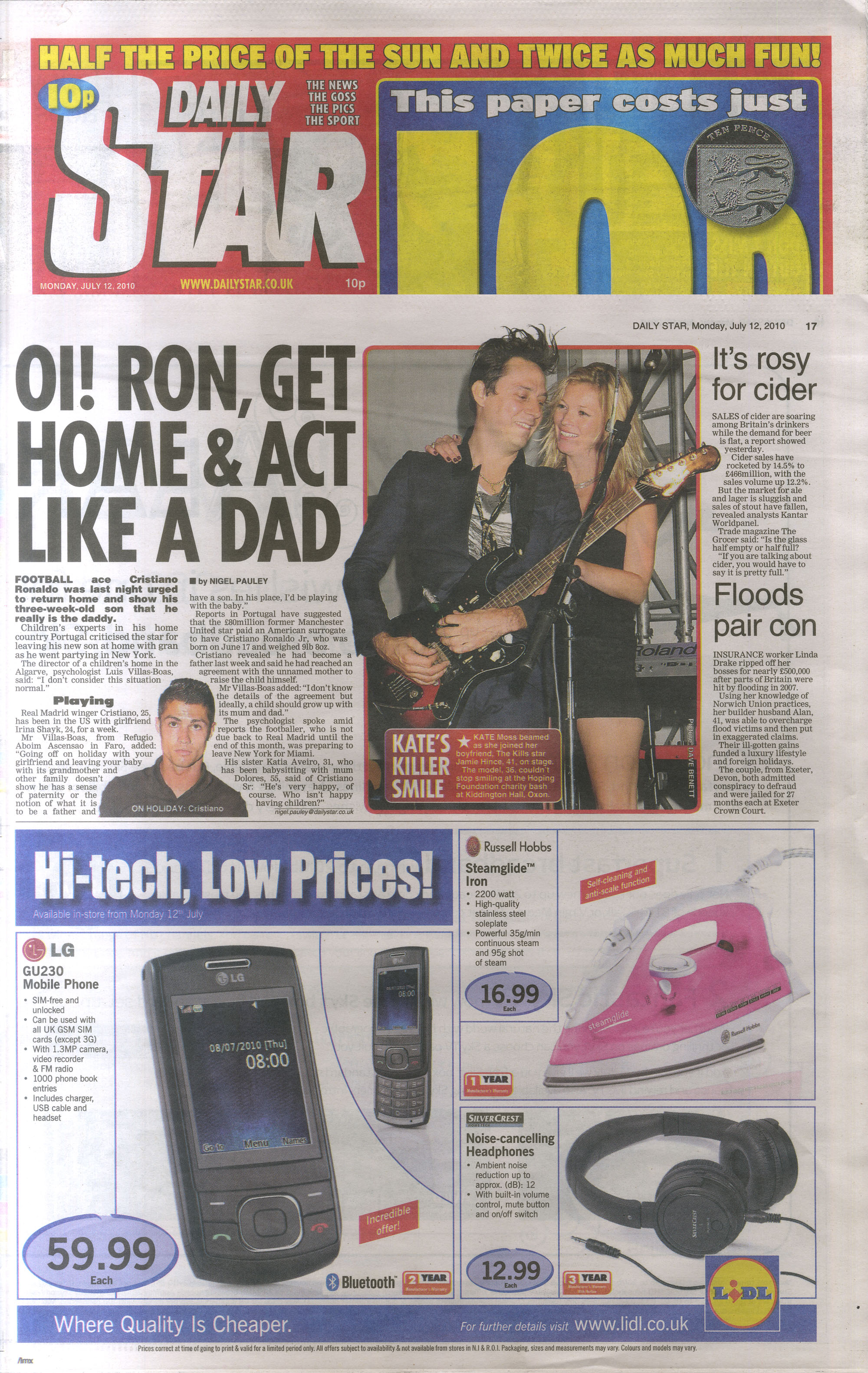 Daily Star editorial 12 July 2010 .jpg
