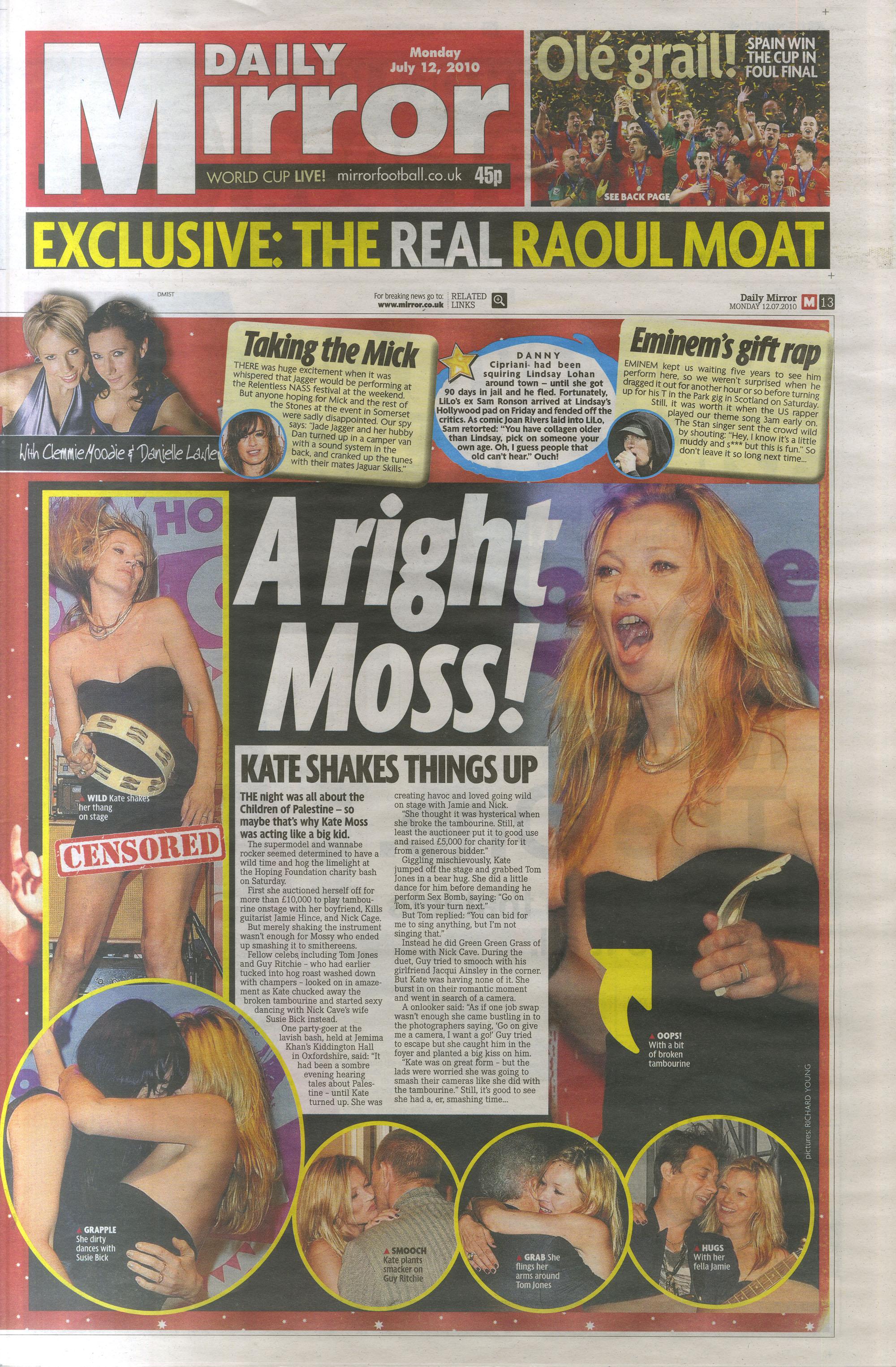 Daily Mirror editorial 12 July 2010 .jpg