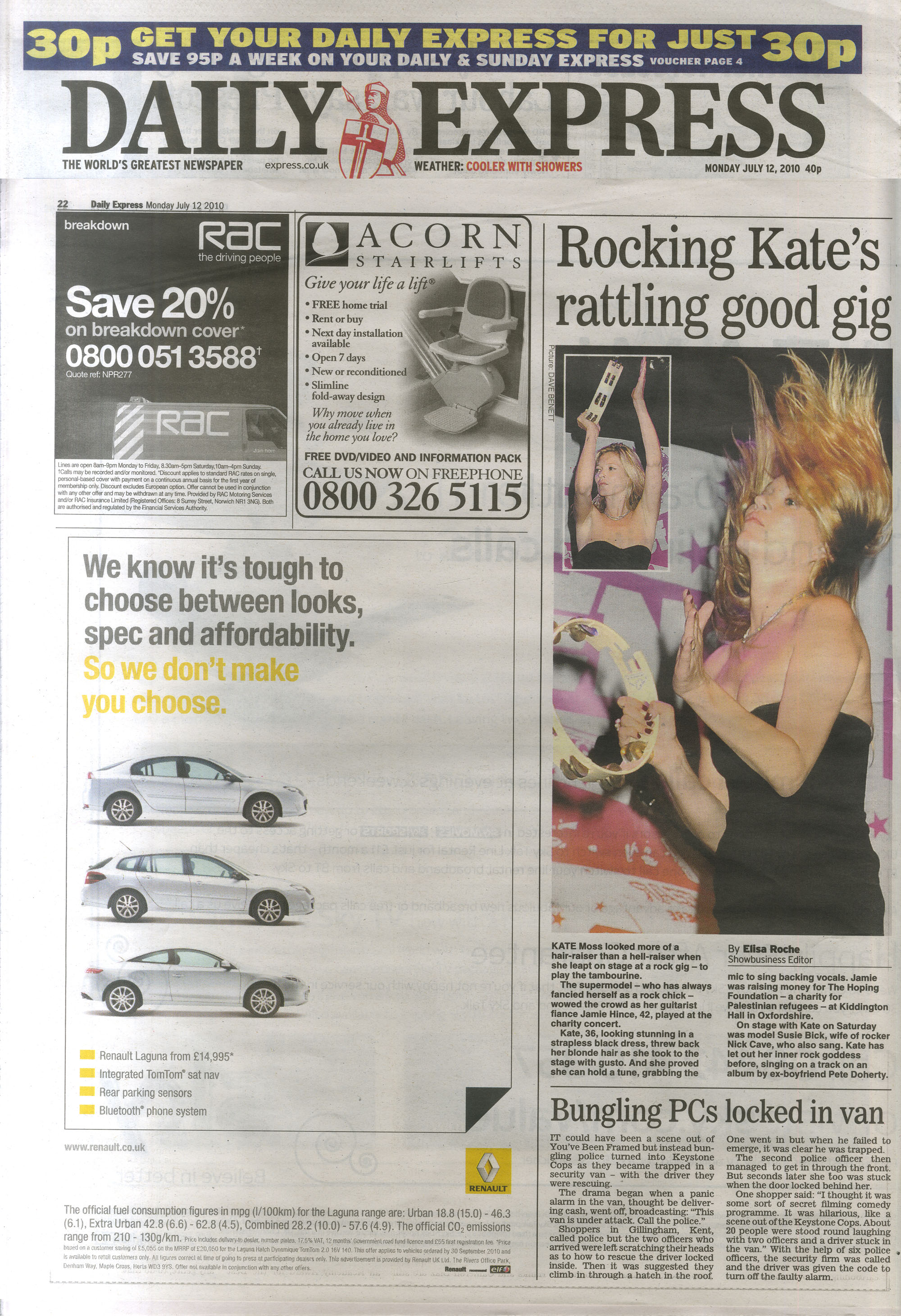 Daily Express editorial 12 July 2010 .jpg