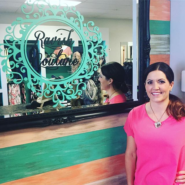 @ravish_couture in Layton started carrying my jewelry line! Super cute Botique. Stop by if your in Layton it's close to Target.
