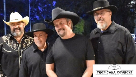 The Tropicana Cowboys Live at the Eiland Bandstage 5:00pm - 8:00pm