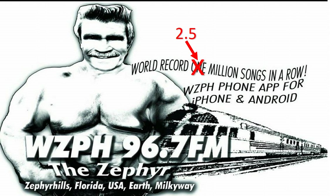 96.7 WZPH The Zephyr   Telephone: 813-948-3629  Email:  drdrdocthayer@gmail.com    Website    Facebook
