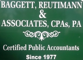 Baggett, Reutimann & Associates   Address: 6815 Dairy Road Zephyrhills  Email: baggettcpa@aol.com  Phone: (813) 788-2155   Website    Facebook