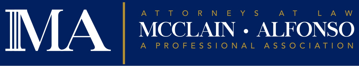 McClain Alfonso P.A.   Address: 38416 5th Avenue Zephyrhills  Email: contact@mcclainalfonso.com  Telephone: 813-782-8700   Website
