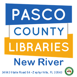 Friends of New River Libraries  Address: 34043 Sr 54 Wesley Chapel, FL  Email: daniellel@pascolibraries.org  Telephone: 813-788-6375   Website    Facebook