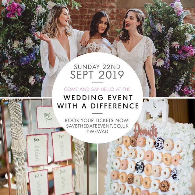 So it's that time of year again! We'll be exhibiting at this bad boy on the 22nd September! Come along and have a look round and a chat at some of the best wedding suppliers in the biz! #savethedate #savethedatemag #theburgundys #wedding #weddingbandderby #derbyweddingband #wewad #weddingfayre #weddingfayrederby