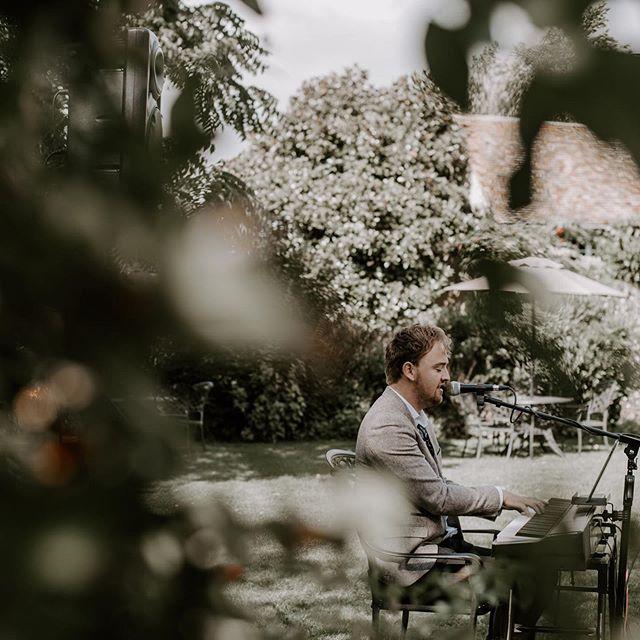 Our boy @joshkempmusic at Mr and Mrs Jex's wedding a couple of weeks back. #theburgundys #wedding #weddingceremony #outdoorceremony #joshkemp #weddingbandnottingham #nottinghamweddingband #weddingbandderby #derbyweddingband #weddingpianist pianistnottingham #nottinghampianist #derbypianist #pianistderby #awesomeday