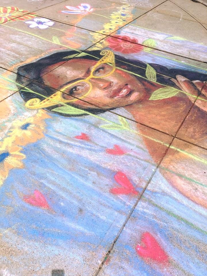 Chalk Art in Middletown