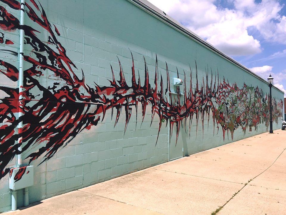 Mural in Middletown