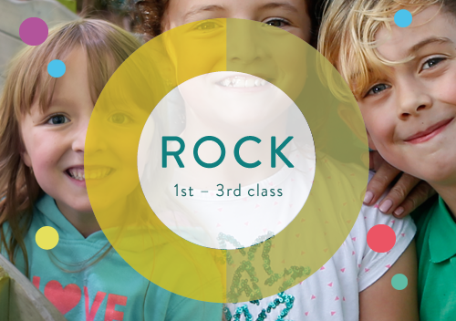 Rock stands for ... and is for kids 1st to 3rd class