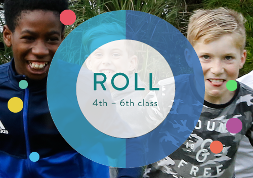 Roll stands for ... and is for kids 4th to 6th class