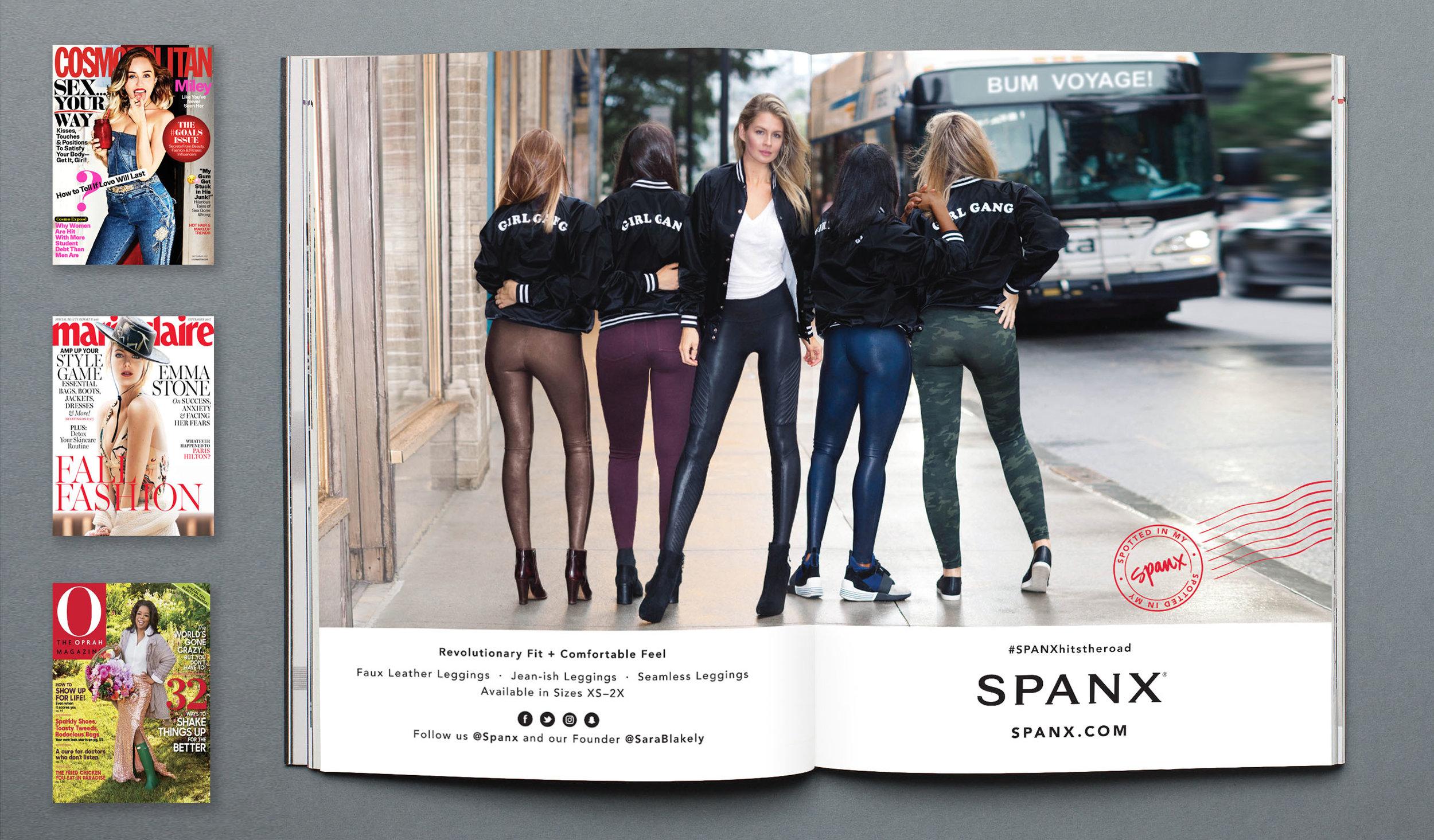 SPANX Fall 2017 Print Ad