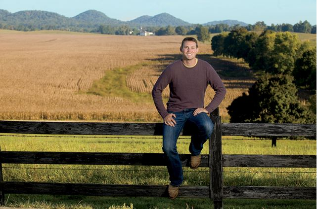 Quint Pottinger embraces technology and innovation to improve production and sustainability on his family farm.